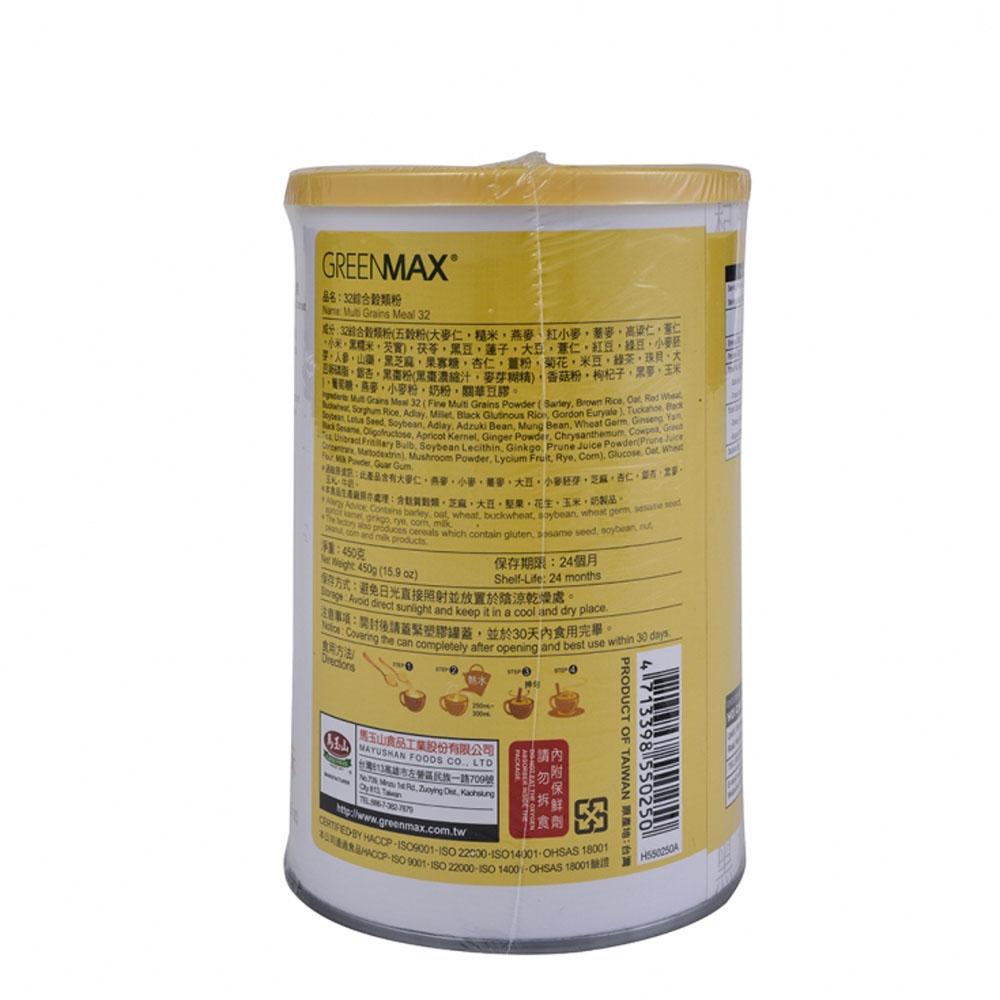 馬玉山32綜合穀類粉(鮮奶味)