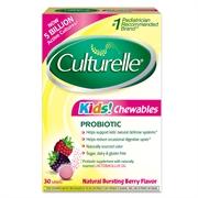 Culturelle Kids Chewable Probiotic 30's (3pcs)
