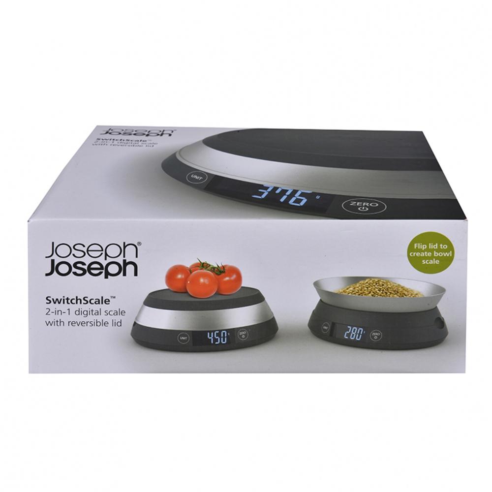 23893b95a7bc Joseph Joseph Switch Scale, Grey--Wing On NETshop