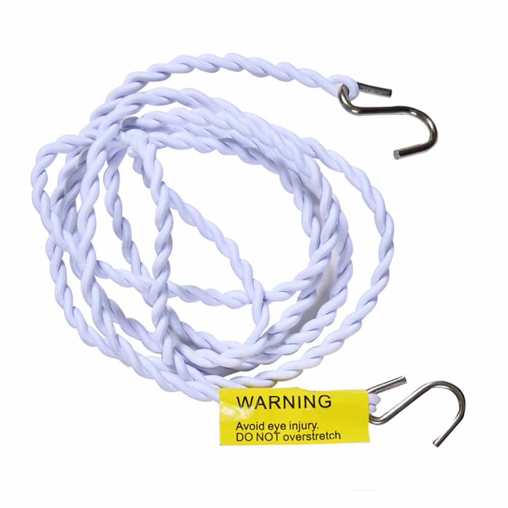 KORJO Pegless Clothes Line (white)