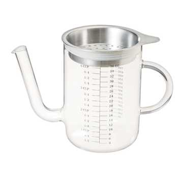 Oil Separator with Stainless Steel lid 1L
