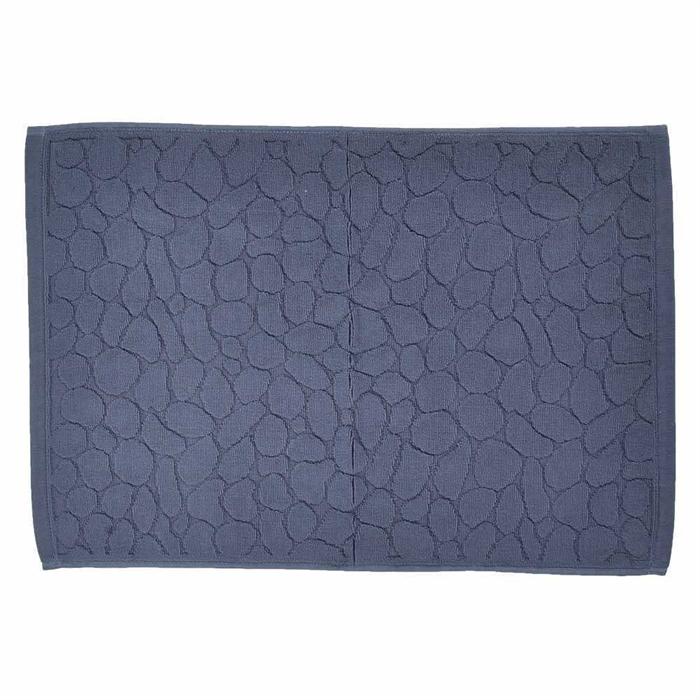 Terry Cotton 純棉淨色地巾40x60cm(深藍色)
