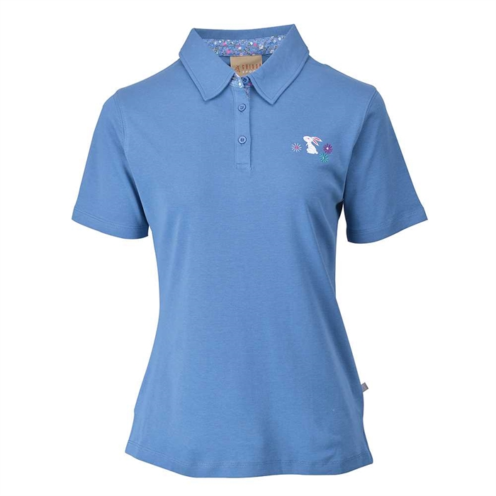 Chissa Sports Ladies Cotton POLO T-shirt CS-416 (Jean Blue)