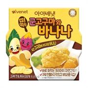貝貝即食蕃薯香蕉蓉90克922401(14件)