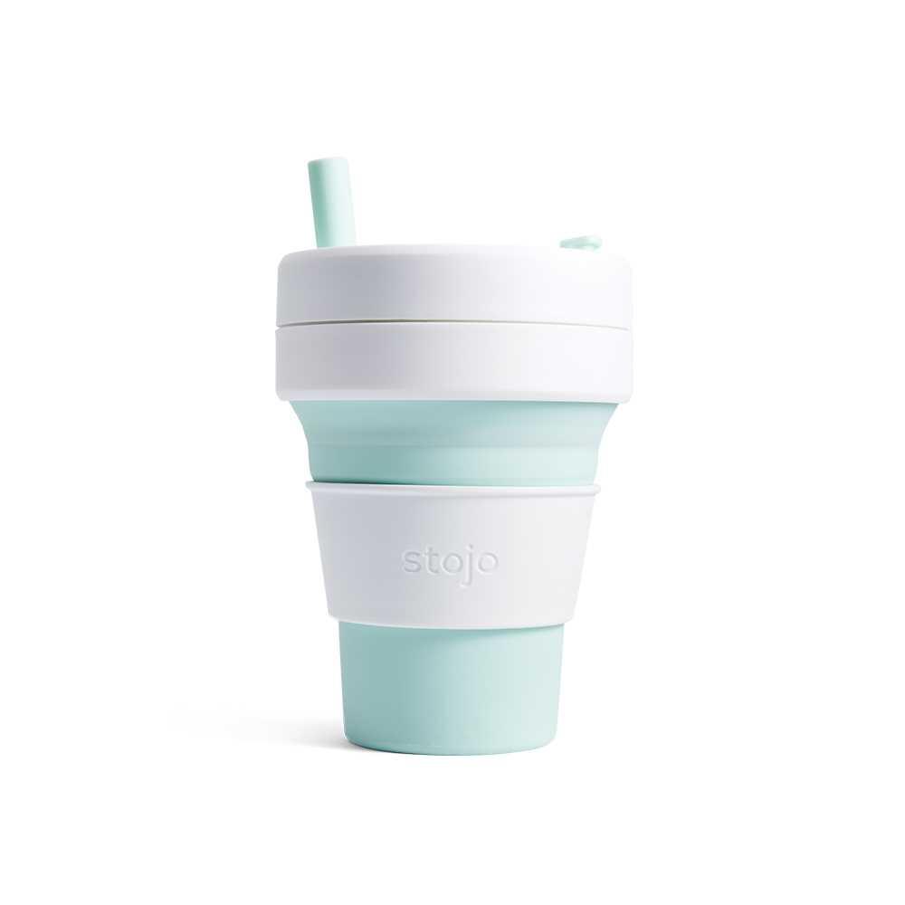 Stojo摺疊隨行杯470毫升(薄荷綠色)S2-MNT