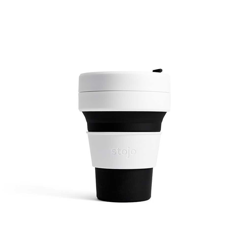 Stojo Pocket Cup 355ml (Black) S1-BLK