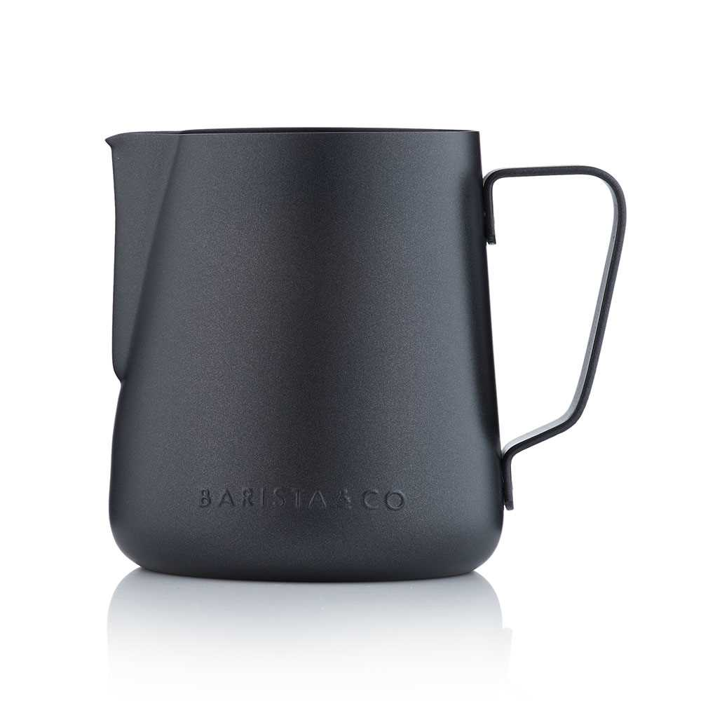Barista & Co.不銹鋼奶壺420ml(黑色)