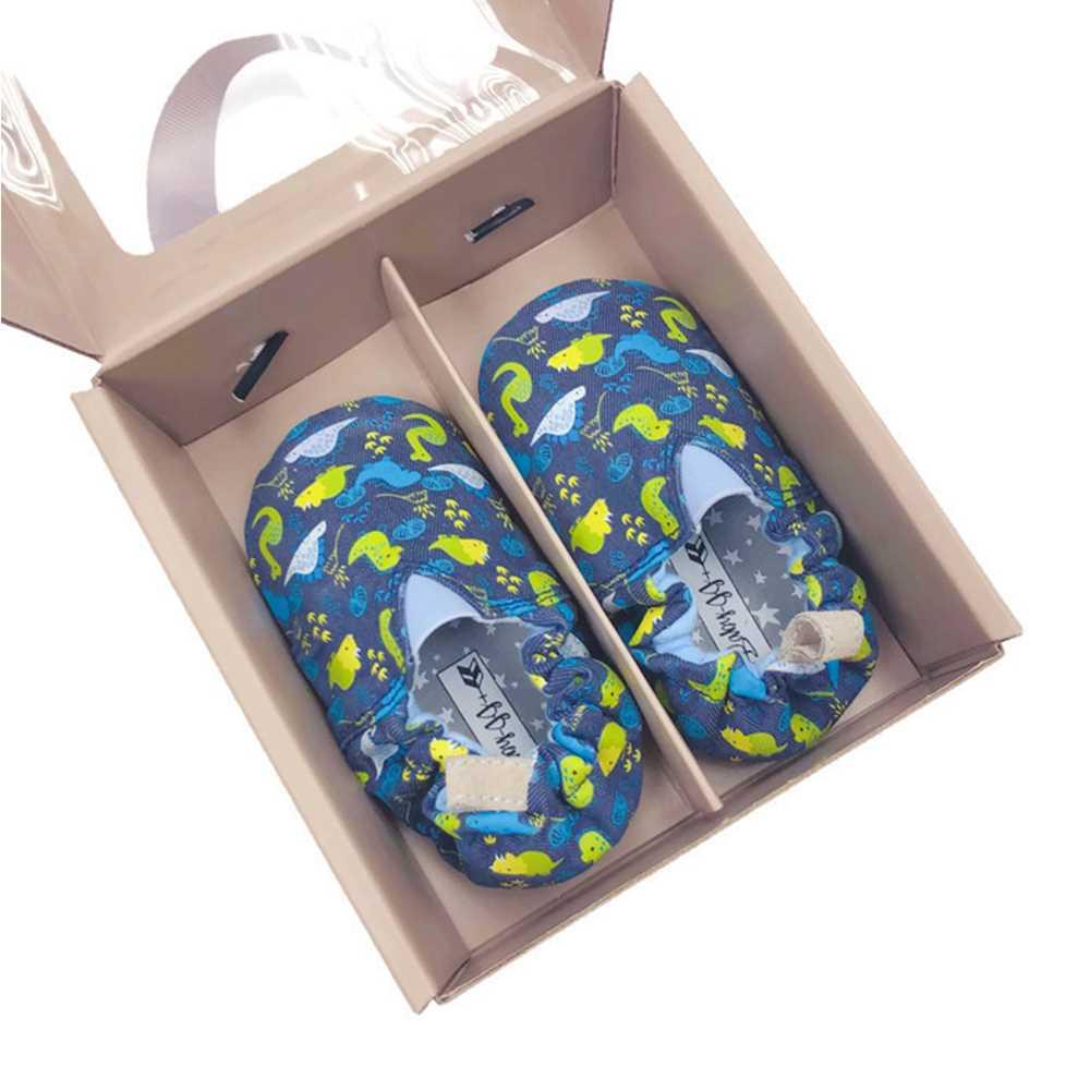 JPLUSJ Blue Dino Baby Shoes JJ181202B