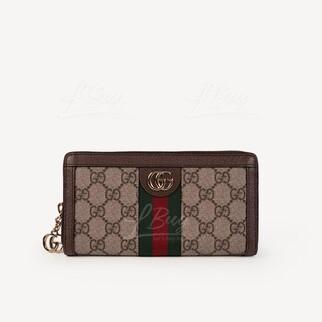 Gucci Ophidia GG拉鏈銀包