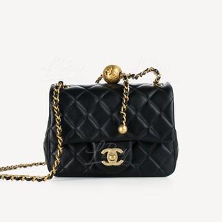 Chanel 小金球17cm垂蓋手袋