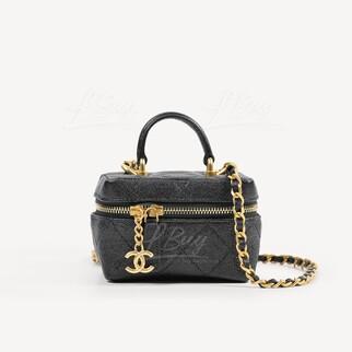 Chanel 細號鏈帶手柄梳妝袋
