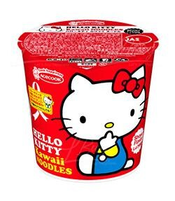 ACECOOK Hello Kitty 醬油味杯麵 55g