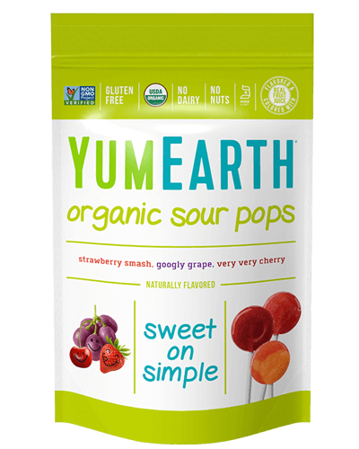 YumEarth Organic Sour Lollipops