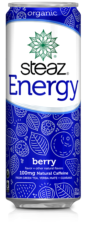 Steaz Energy Drinks Berry