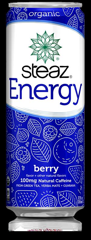 Steaz 有機能量飲品(莓果)