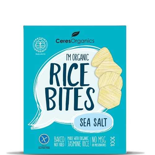Ceres Organics Rice Bite (Sea Salt)