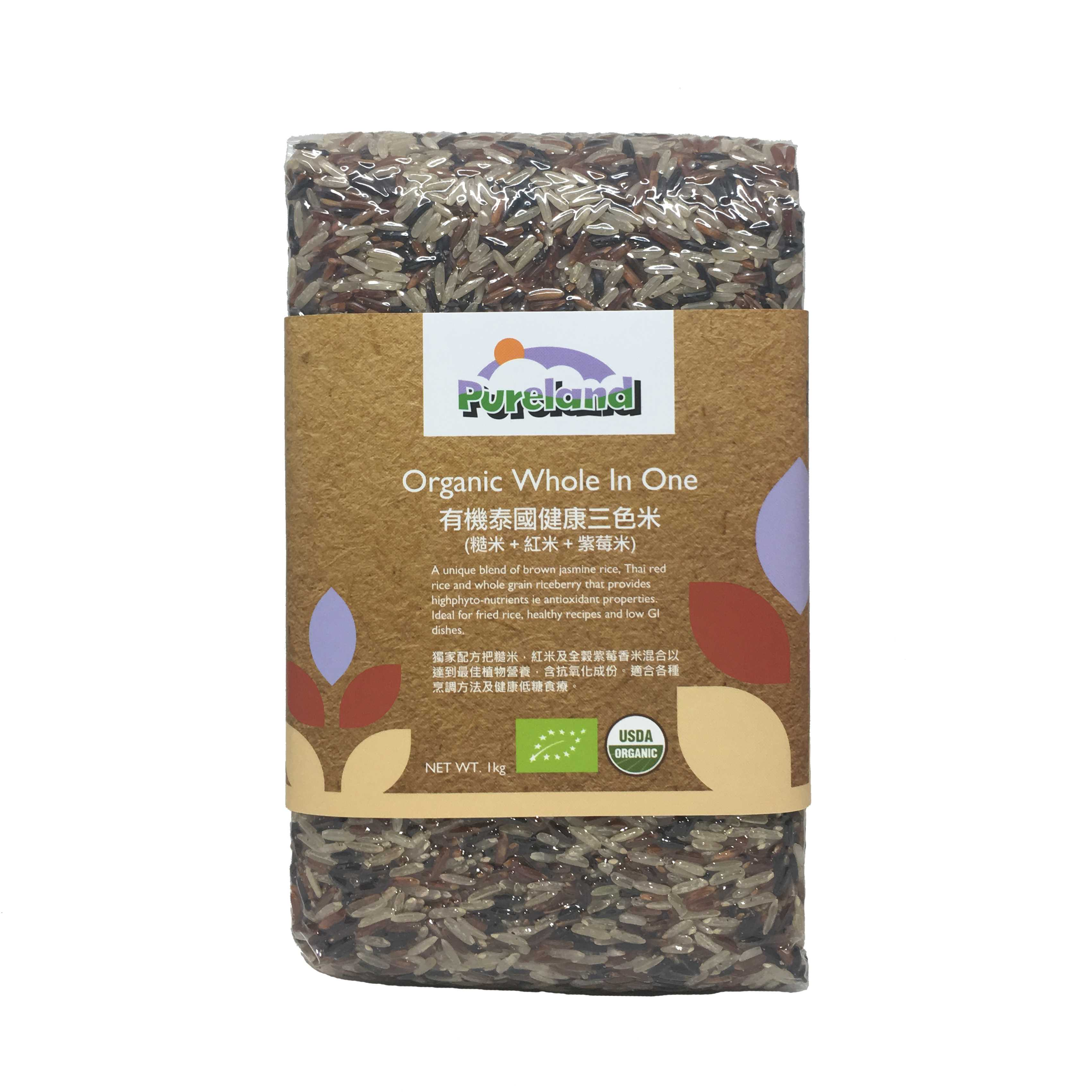 Pureland Organic Whole in One 1kg