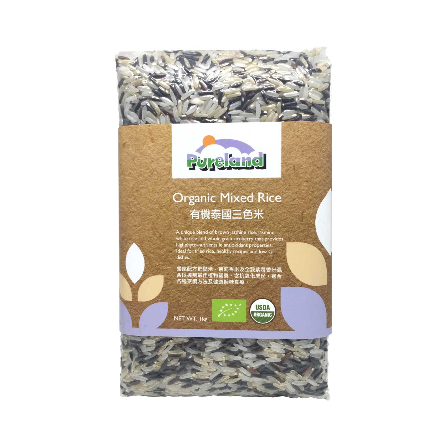Pureland Organic Mixed Rice 1kg