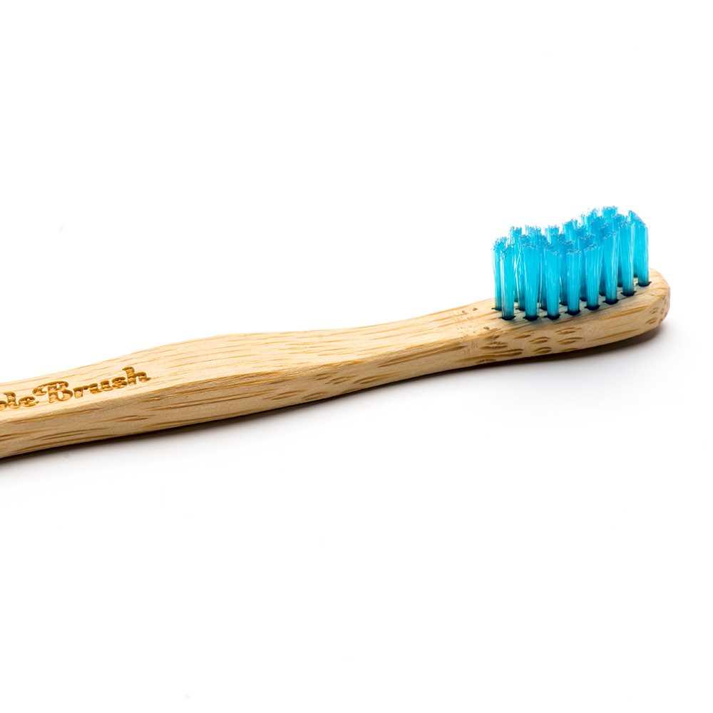 Humble Brush Kids Ultra-Soft Toothbrush (Blue)