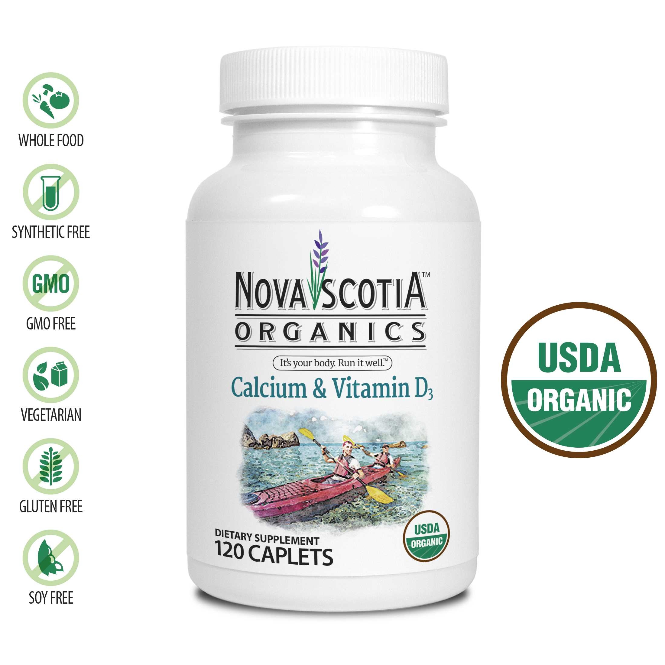 Nova Scotia Calcium + D3 120's