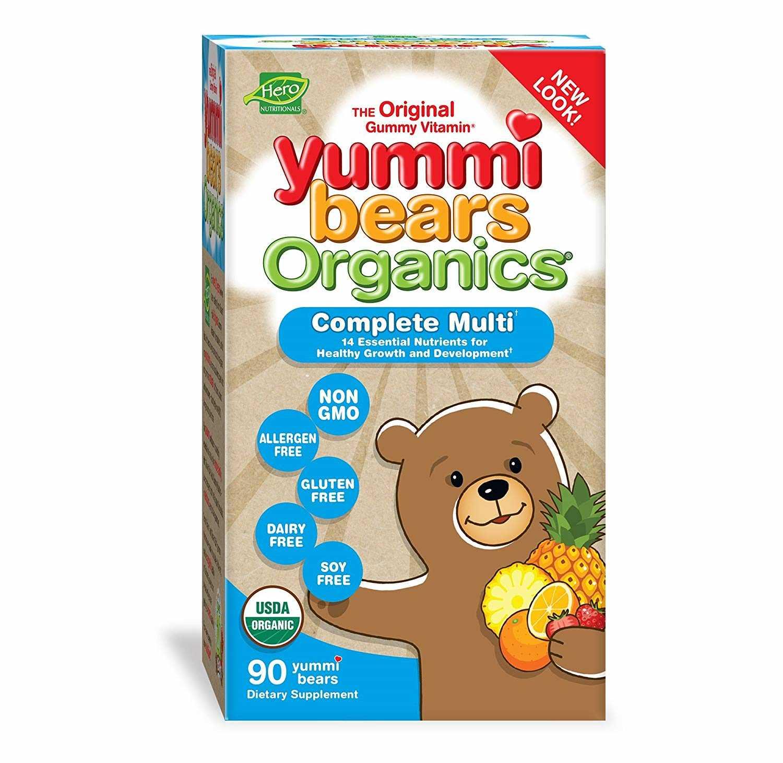 Hero Yummi Bears Multi Vitamin 90ct