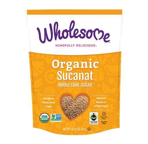 Wholesome Organic Sucanat 454g