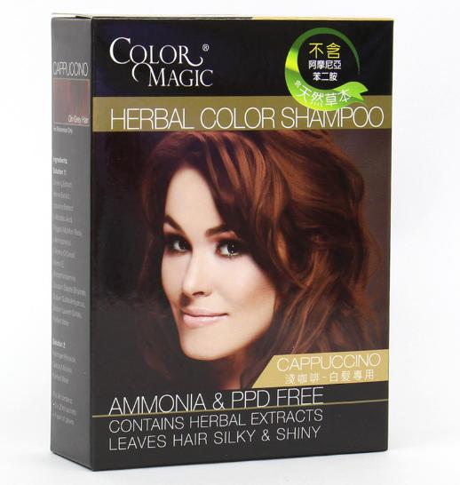 Color Magic (Cappuccino) Herbal Color Shampoo浅咖啡