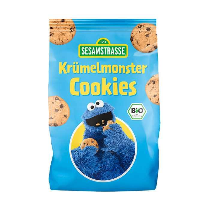 Sesamstrasse Organic Oats Choc Cookies COOKIE MONSTER 150g