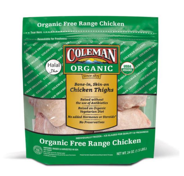 Coleman Org. Chicken Thigh