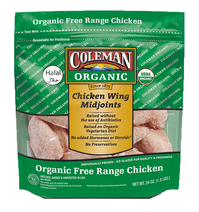 Coleman Org. & Mid Joint Wing 1.5lb