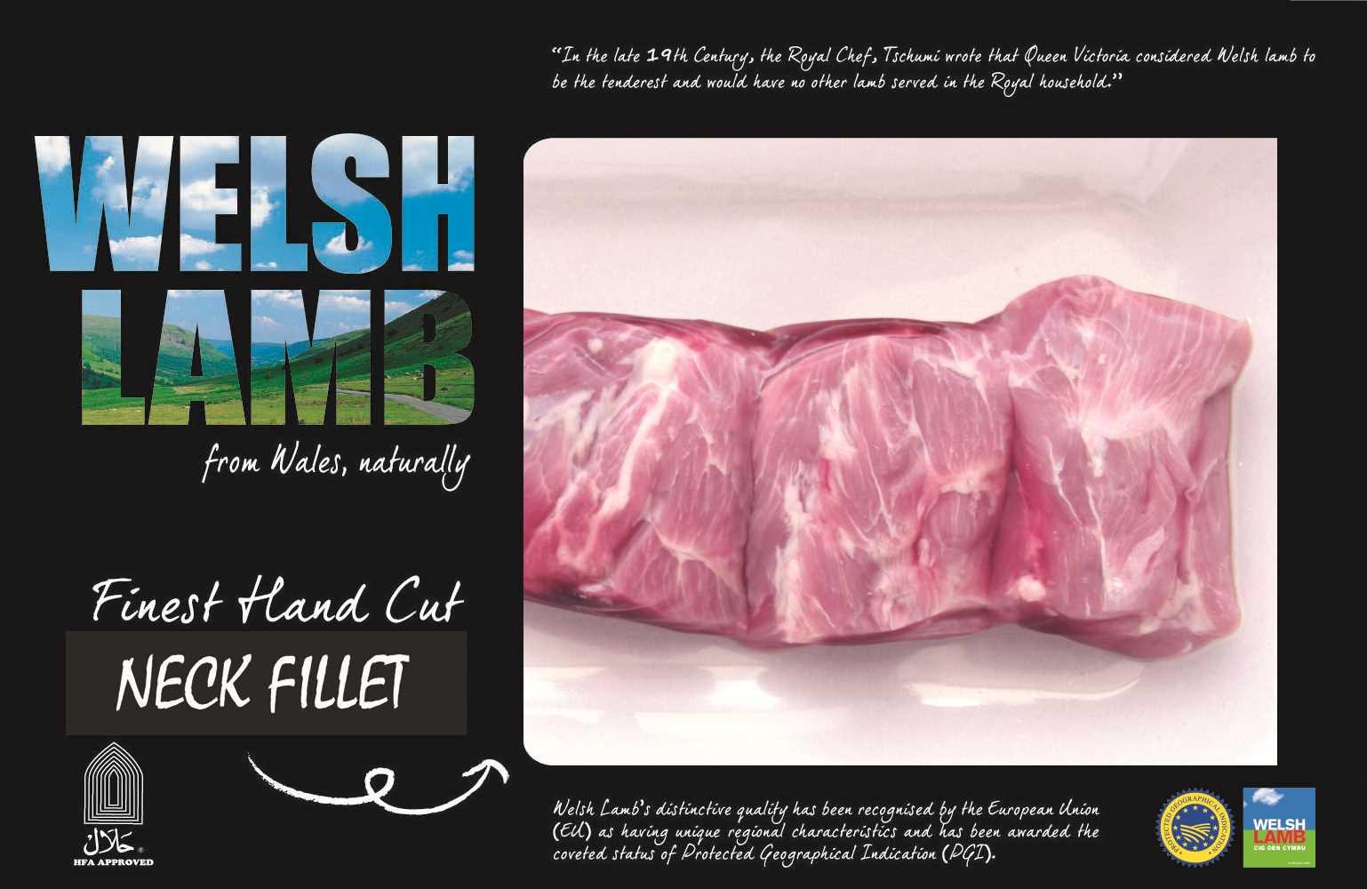 Welsh Lamb Neck Fillet