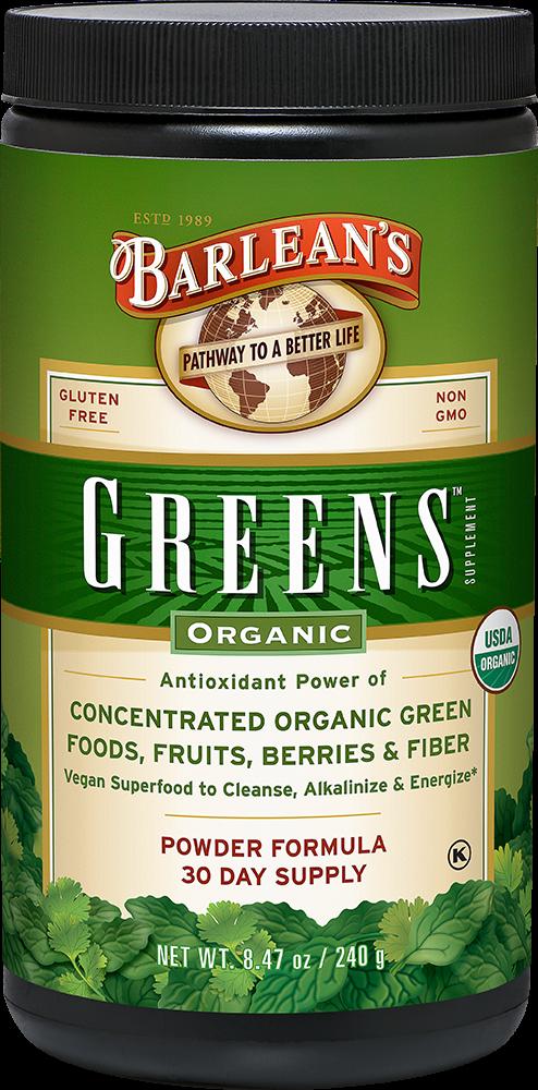 Barlean's 有机蔬菜绿粉