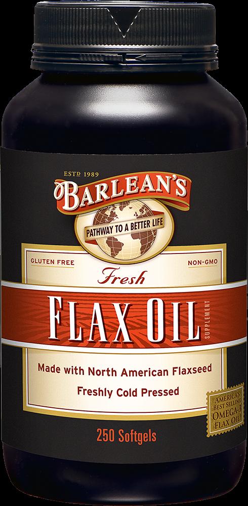 Barlean's 亚麻籽油胶囊