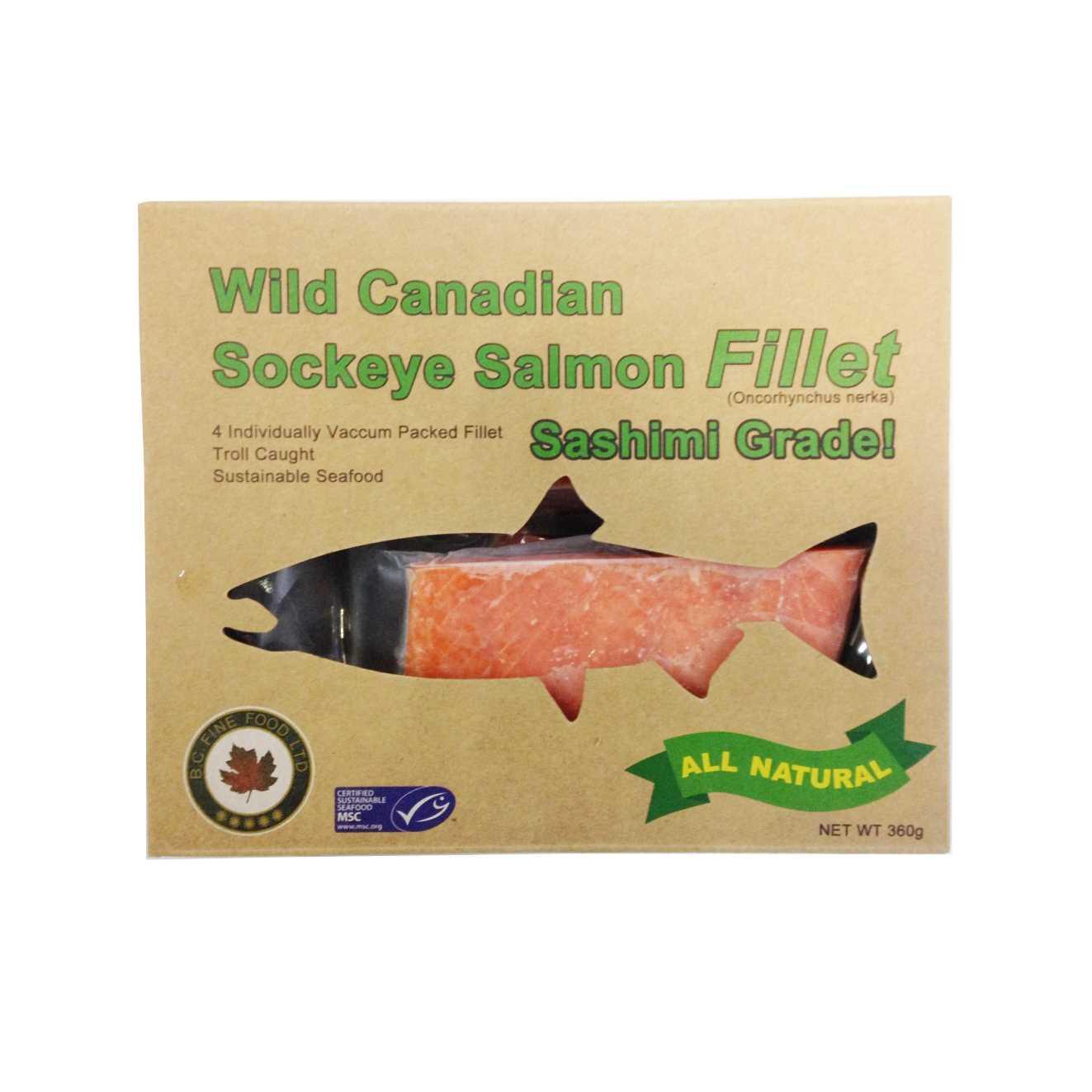 Wild Canadian 加拿大天然野生三文魚