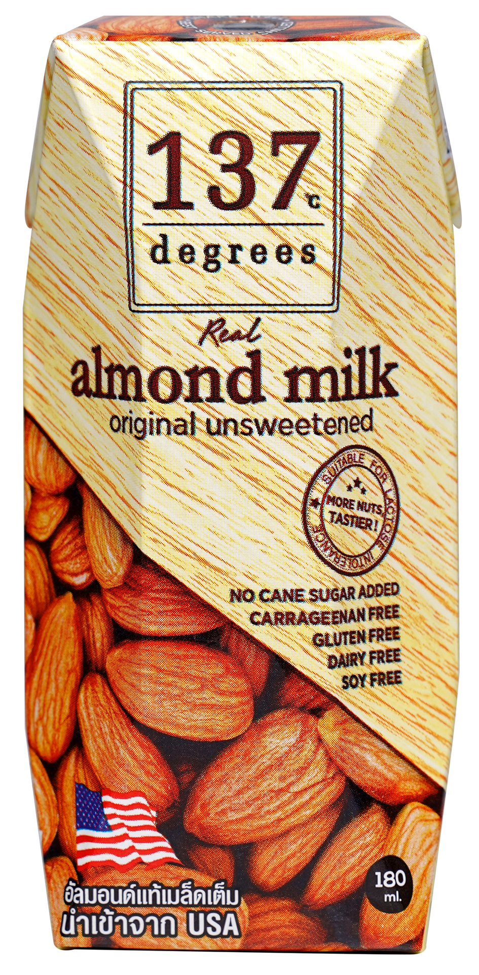 137°c Degrees Almond Milk Unsweetened