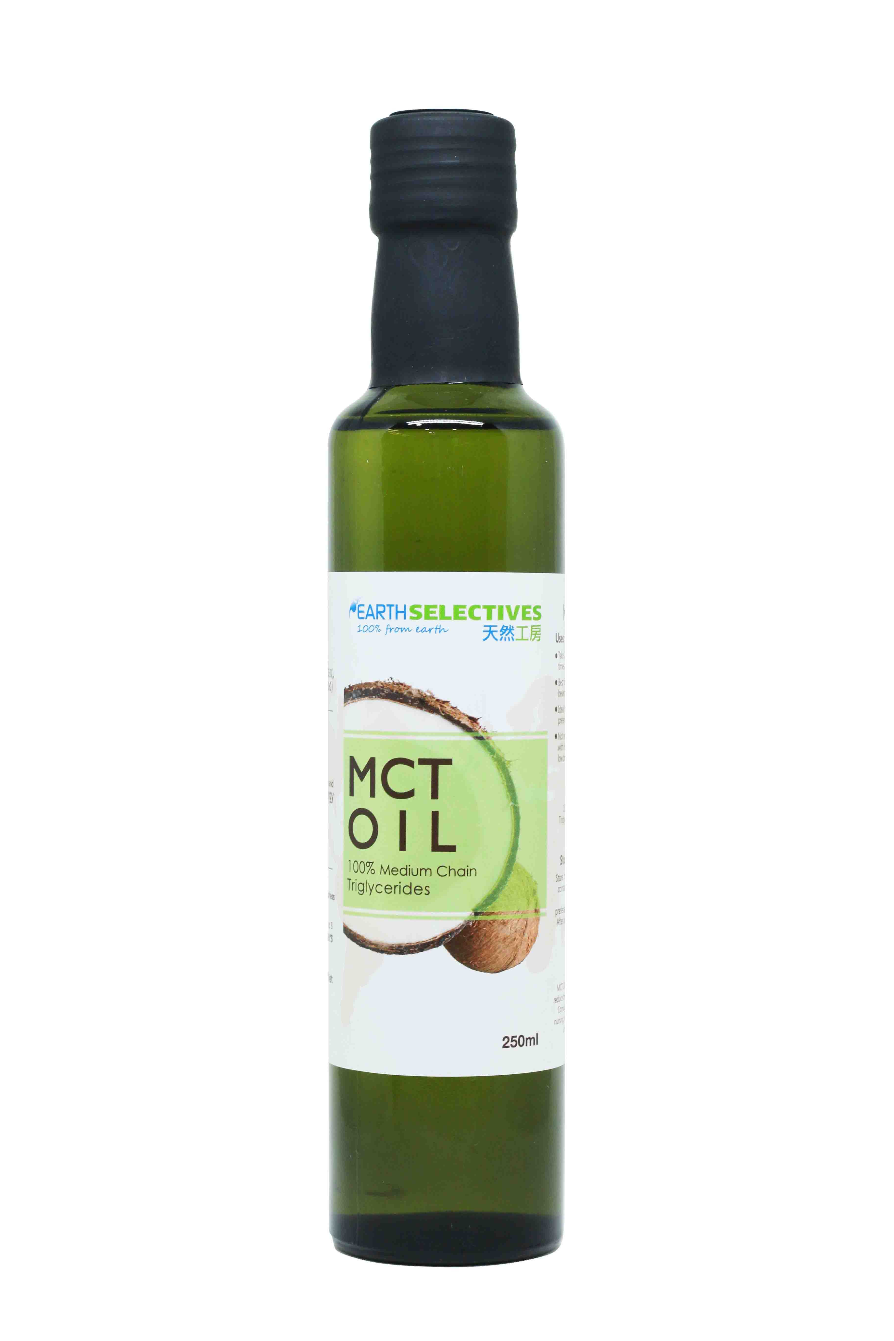 Earth Selectives MCT Oil 250ml