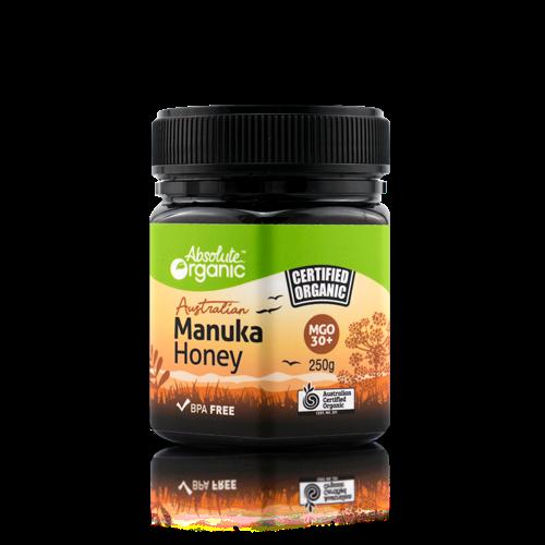 Absolute Organic Honey Manuka MGO 30+ 250g