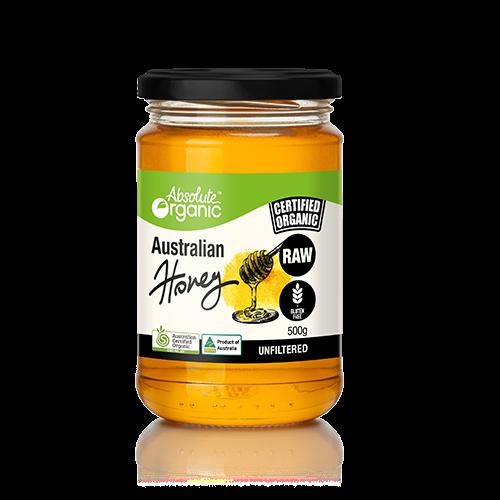 Absolute Organic 澳洲有機生蜂蜜 500g