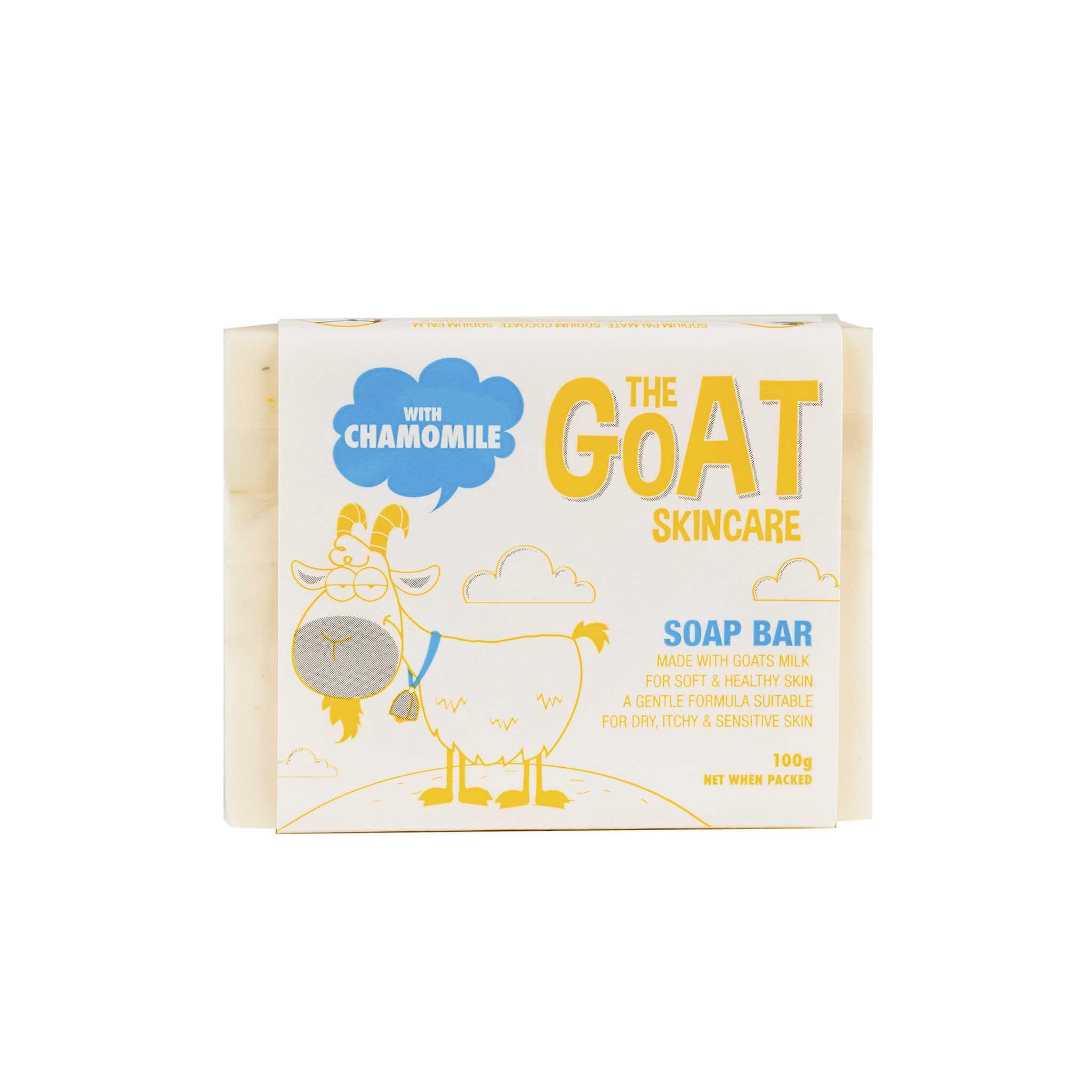The Goat Skincare Soap Bar 羊奶洋甘菊香皂