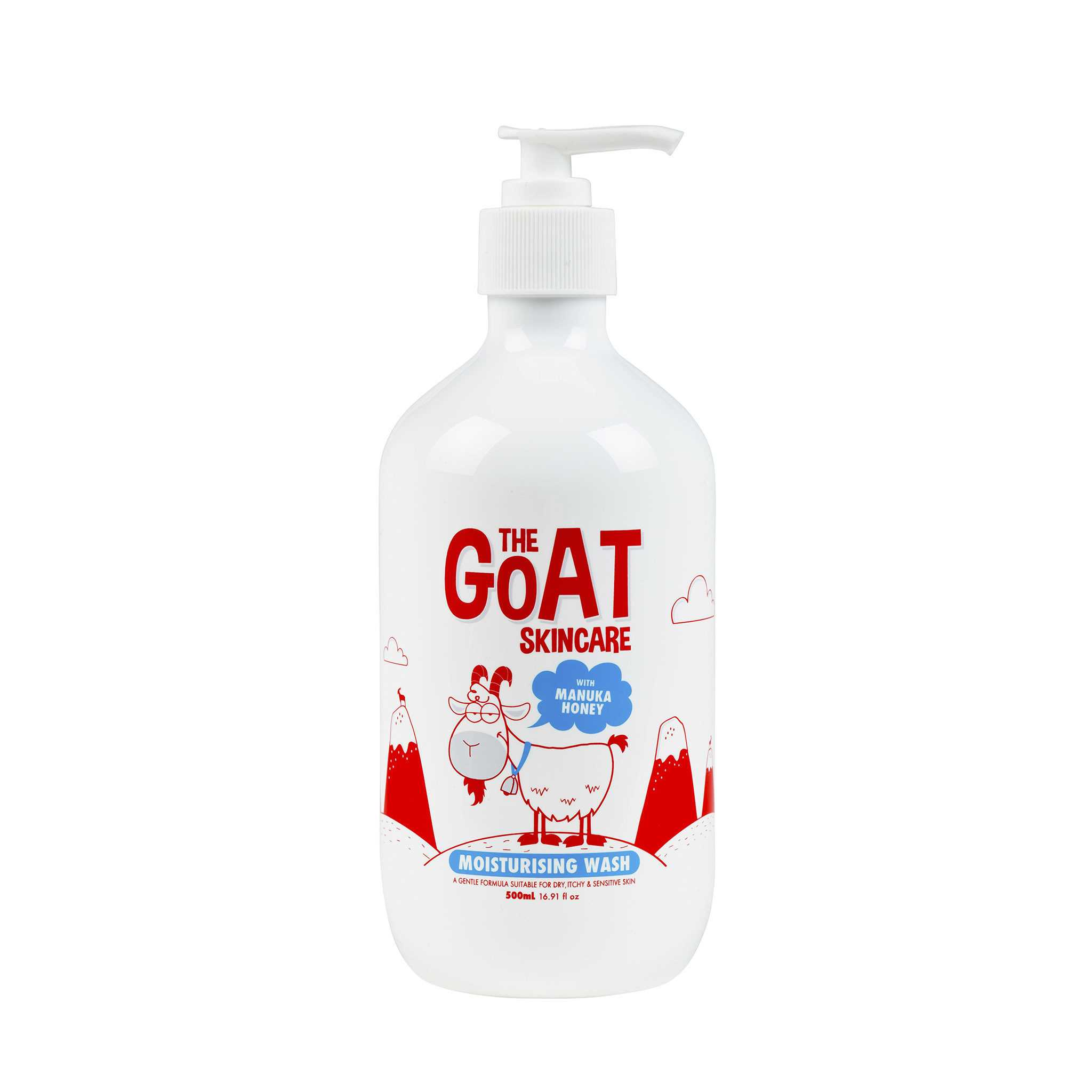 The Goat Skincare 羊奶濕沐浴露 麥盧卡蜂蜜香味 500ml