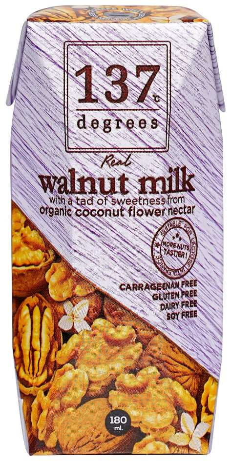 137°c Degress Walnut Milk Original 180ml