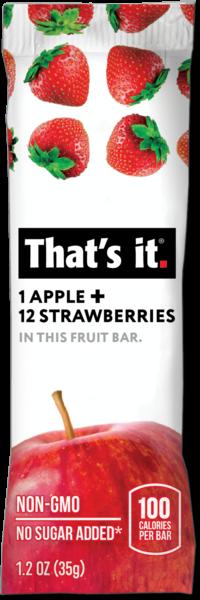 That's it - 草莓蘋果水果棒 35g