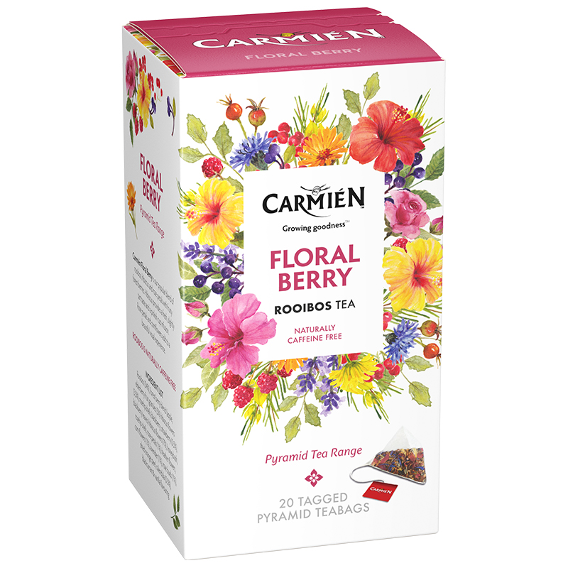 Carmien Pyramid range: Floral Berry 20's (50g)