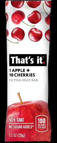 That's it - Apple + Cherry Fruit Bar