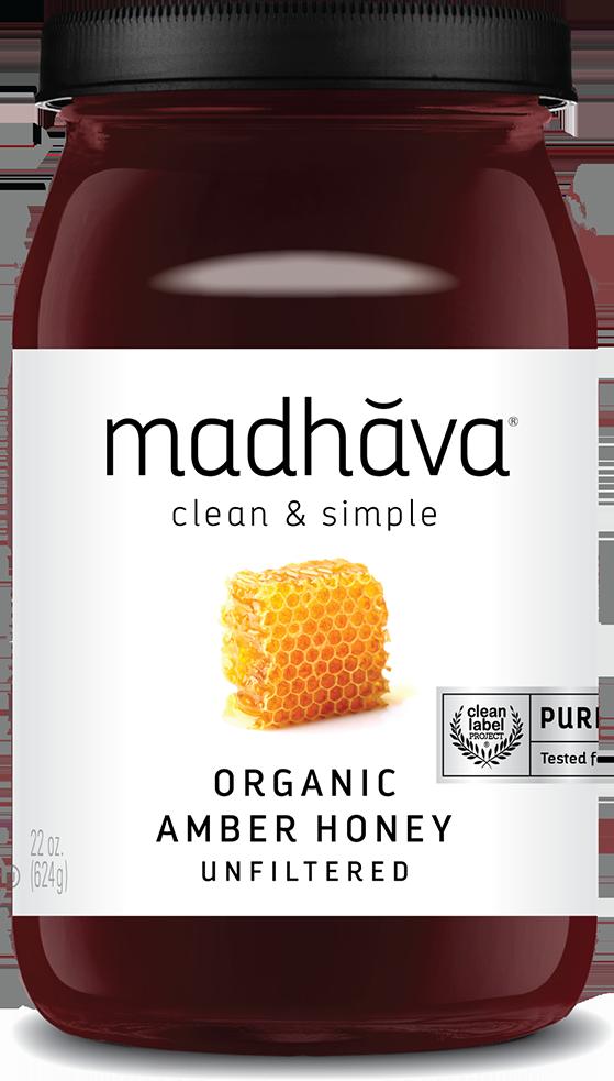 Madhava 有機純正蜜糖 22oz