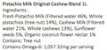 137°c Degrees Pistachio Milk Original  1L