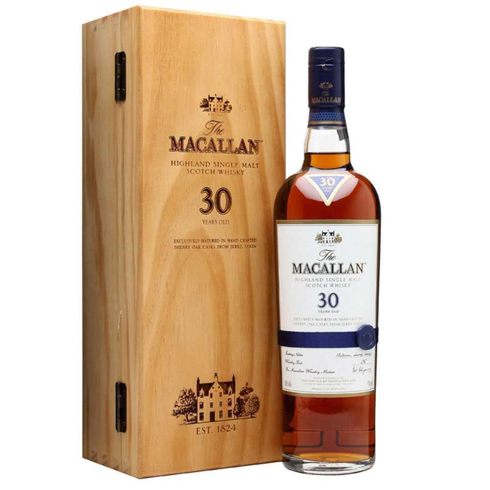 Macallan 30 Year Old Sherry Oak (700ml)