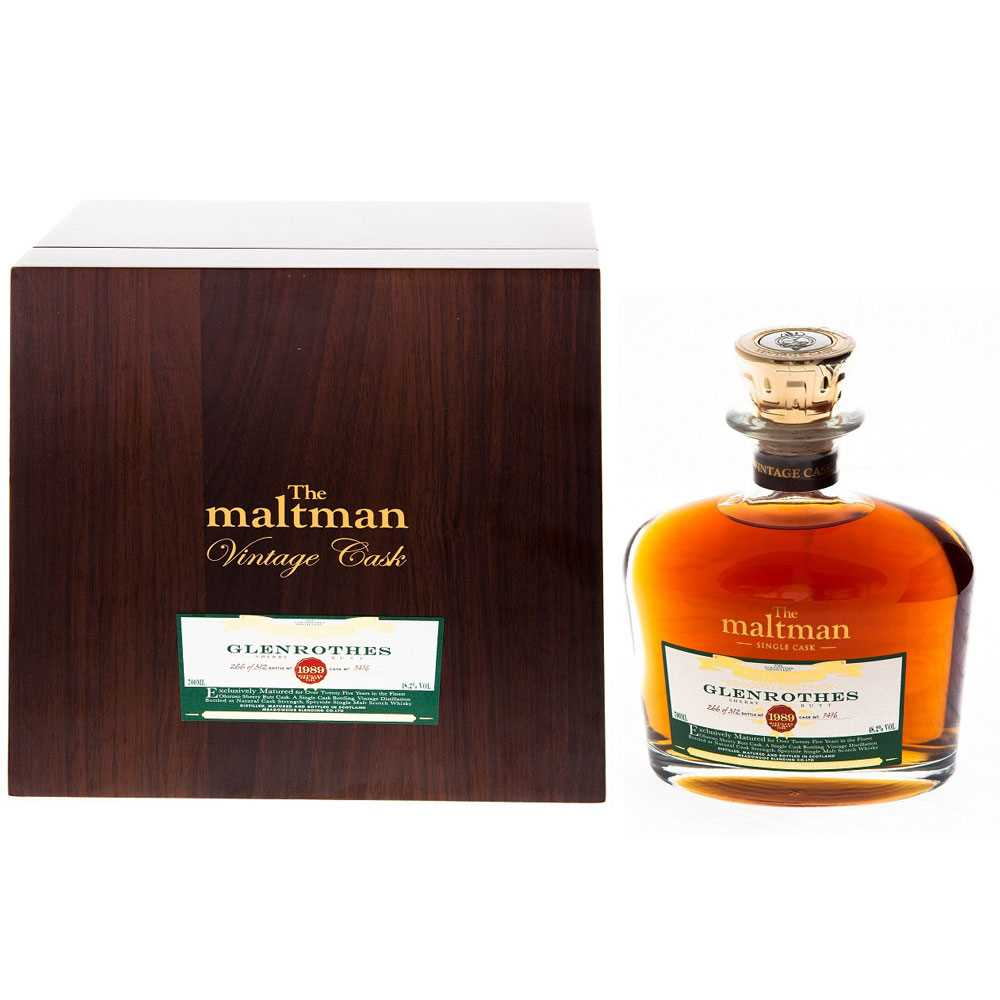 GLENROTHES 25 YEAR OLD, MALTMAN SINGLE CASK (700ml)