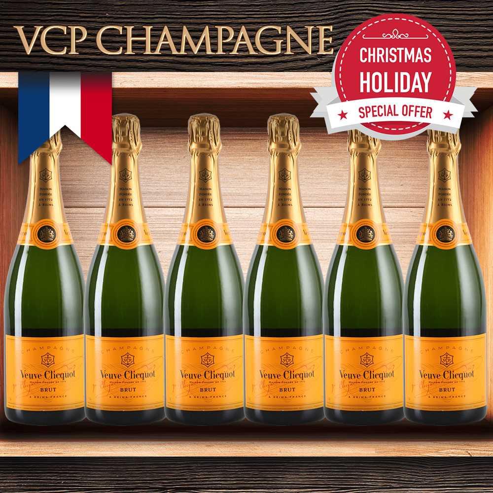 Veuve Clicquot (VCP) Champagne Set