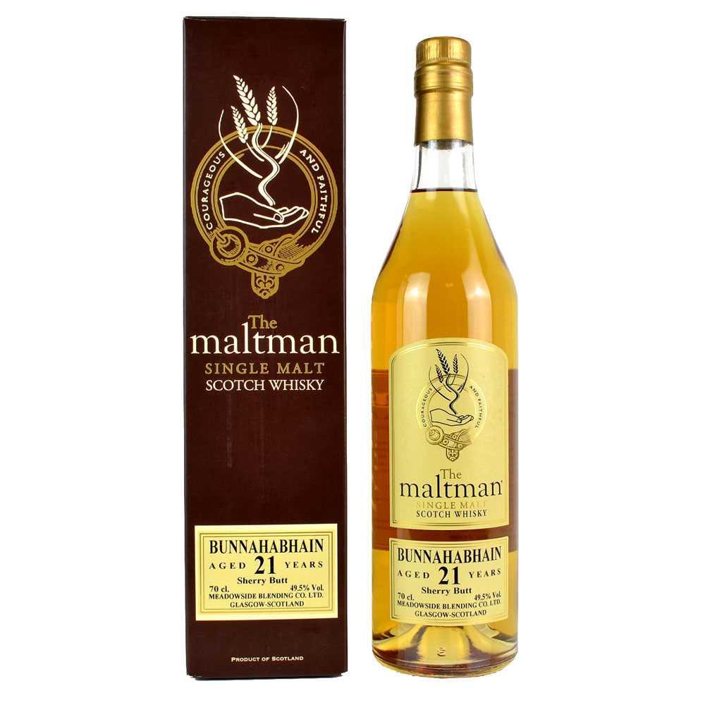 The Maltman Bunnahabhain 21 Year Old (700ml)